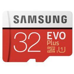 Karta pamięci Samsung MICRO SD CARD 32GB EVO + - MB-MC32GA/EU Darmowy odbiór w 21 miastach!