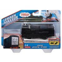 Pojazdy bajkowe dla dzieci, Tomek i Przyjaciele, Mała lokomotywka z napędem - Diesel