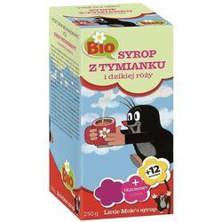Syrop dla dzieci z tymianku i dzikiej róży BIO 250g Apotheke
