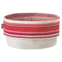 Pojemnik na pieczywo Stelton w paski w odcieniach różu i czerwieni