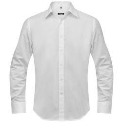 vidaXL Koszula męska biała, rozmiar XL Darmowa wysyłka i zwroty
