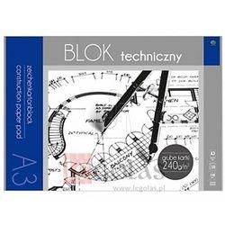 Blok techniczny INTERDRUK A3 10k. 240g. Premium
