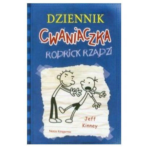 Literatura młodzieżowa, Dziennik cwaniaczka 2. Rodrick rządzi (opr. broszurowa)