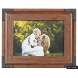 SELSEY Ramka na zdjęcia Jari drewniana 19,5x24,5 cm