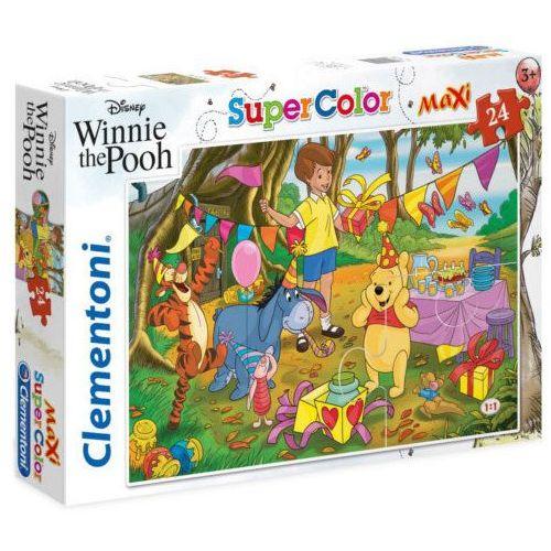 Puzzle, Puzzle Supercolor 24 Maxi Winnie the Pooh