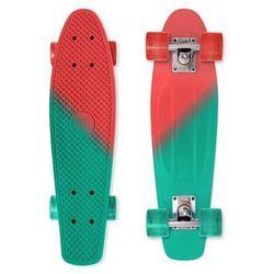 Penny board deskorolka fiszka Street Surfing Beach Board - color vision, czerwono-zielony