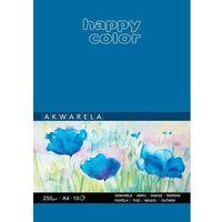 Bloki, Blok akwarelowy art a4/10k 250g happy color