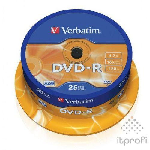 Płyty CD, DVD, Blu-ray, Płyta VERBATIM DVD R Matt Silver