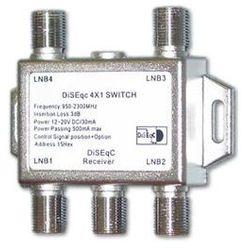 Przełącznik Diseqc 4/1 zewnętrzny Opticum