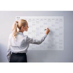 Planer kalendarz ścienny 2018 suchościeralny 119x84 A0 z twoim logo
