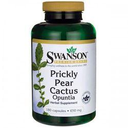 Swanson Prickly Pear Cactus (Kaktus opuncja) - 650mg - (180 kap)
