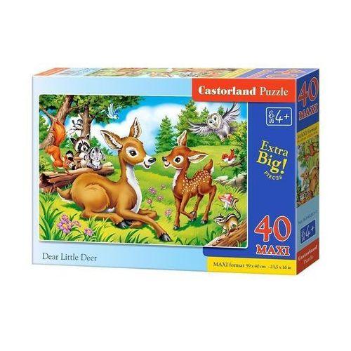 Puzzle, Puzzle Dear Little Deer 300 - Castor