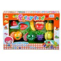 Pozostałe zabawki, Owoce plastikowe do krojenia