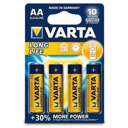 Baterie VARTA Longlife extra, Mignon LR06/AA - 4 szt