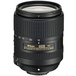 Obiektyw NIKON Nikkor AF-S DX 18-300mm f/3.5-6.3G ED VR + Otrzymaj RABAT! + Zamów z DOSTAWĄ JUTRO!