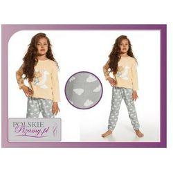Piżama dziecięca NIKA: brzoskwinia