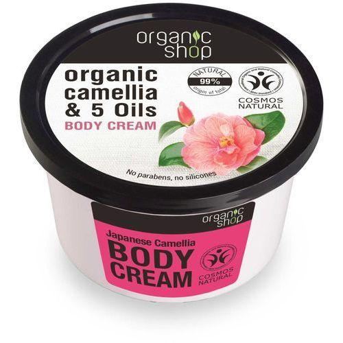 Balsamy, Organic Shop Krem do ciała Japońska Kamelia 250ml