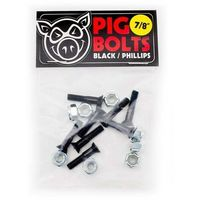 Pozostały skating, montażówki PIG WHEELS - Black 1.25in Phillips 10 Pa (MULTI) rozmiar: 1.25