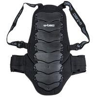 Motocyklowe ochraniacze kręgosłupa, Ochraniacz kręgosłupa na motor W-TEC NF-3540, Czarny, XS