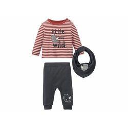 LUPILU® Zestaw niemowlęcy 3-częściowy (spodnie,