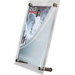 Tabliczka informacyjna stojąca EuroPLEX Portable 2x3 210x190mm