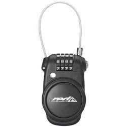Red Cycling Products Secure Pocket Lock Zapięcie kablowe Pull-Out czarny Zabezpieczenia rowerowe Przy złożeniu zamówienia do godziny 16 ( od Pon. do Pt., wszystkie metody płatności z wyjątkiem przelewu bankowego), wysyłka odbędzie się tego samego dnia.