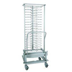 Wózek bankietowy do pieca 2011 - na 59 talerzy
