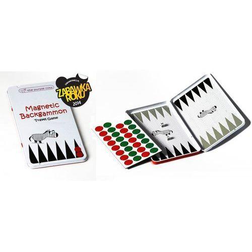 Planszówki, Gra magnetyczna The Purple Cow - Backgammon