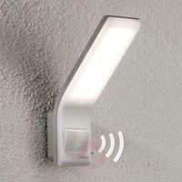 Oprawy, Steinel Zewnętrzny reflektor z czujnikiem biały XLED 012069