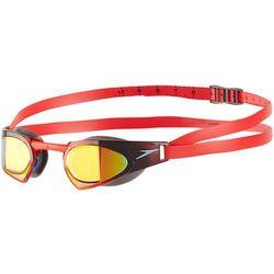 speedo Fastskin Prime Mirror Okulary pływackie czerwony 2018 Okulary do pływania