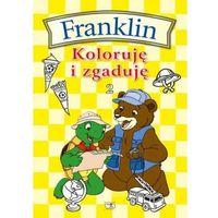 Książki dla dzieci, FRANKLIN KOLORUJĘ I ZGADUJĘ 2 (opr. miękka)