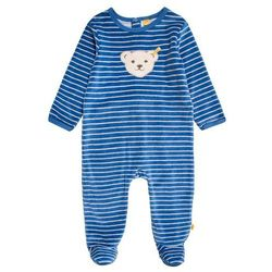 Steiff Collection 1/1 ARM NICKY BABY NEWBORN WINTER COLOR Śpioszki federal blue