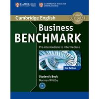 Książki do nauki języka, Business Benchmark Pre-Intermediate to Intermediate BULATS Edition. Podręcznik (opr. miękka)