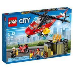 Klocki Lego City Helikopter strażacki