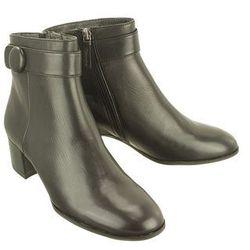 TAMARIS 25378-29 003 black leather, botki damskie