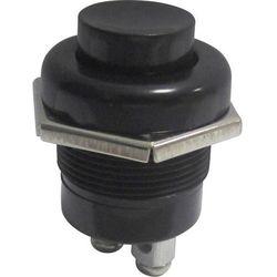 Przycisk samochodow SCI A2-5A, O 22.2 mm, 10 A, 24 V, wył./(wł.), mocowany na gwint