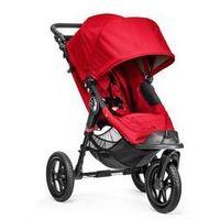 Wózki spacerowe, W�zek do biegania City Elite Single Baby Jogger + GRATIS (red)