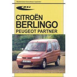 Citroen Berlingo, Peugeot Partner modele 1996-2001. - Praca Zbiorowa