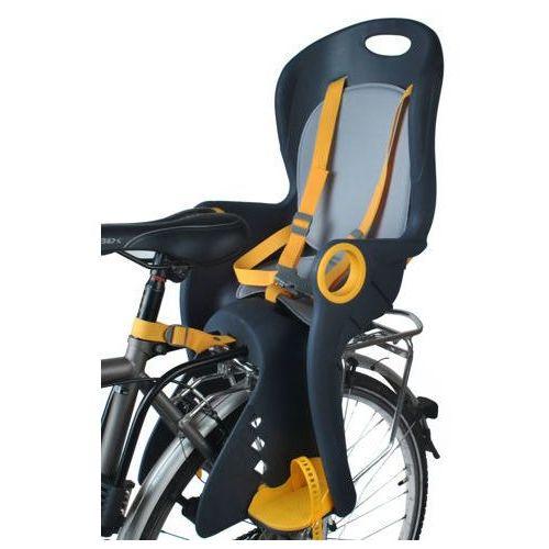 Foteliki rowerowe, Fotelik Rowerowy na rower dla dziecka grafitowy