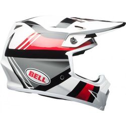 BELL MX-9 MIPS MARAUDER WHITE/BLACK/RED Kask Off-road