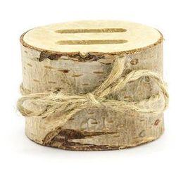 Drewniana podstawka pod obrączki - 1 szt.