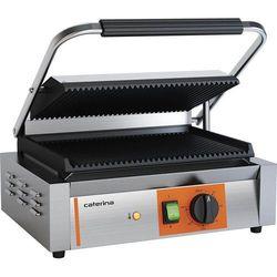 Grill kontaktowy panini ryflowany 2.2 kW CATERINA