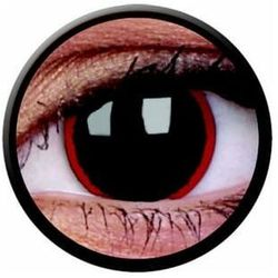 Soczewki kolorowe zrówki czarne Hell Raiser Crazy Lens 2 szt.