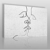 Obrazy, Pętla egzystencji - nowoczesny obraz na płótnie