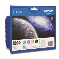Brother 4 x tusze CMYK LC-900VALBP LC900VALBP