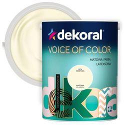 Farba Dekoral Voice of Color bita śmietana 5 l