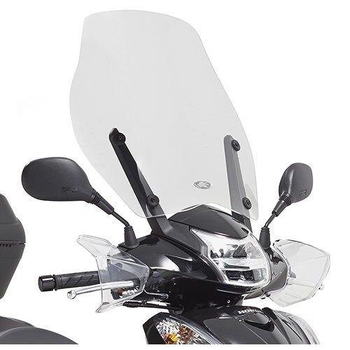 Pozostałe akcesoria do motocykli, Kappa 1125ak szyba honda sh mode 43x46cm przezroczysta