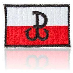 naszywka velcro Polska Walcząca, flaga standard 5,5 x 3,5 cm (NAS.PW.FL.ST)