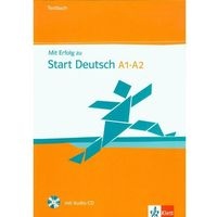 Językoznawstwo, Mit Erfolg Zu Start Deutsch A1-A2 Testbuch + Cd (opr. miękka)