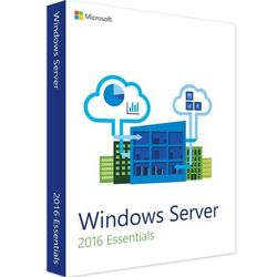 Windows Server 2016 Essentials 64Bit 2CPU PL